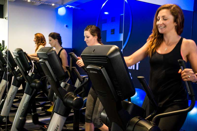 group fitness clubs