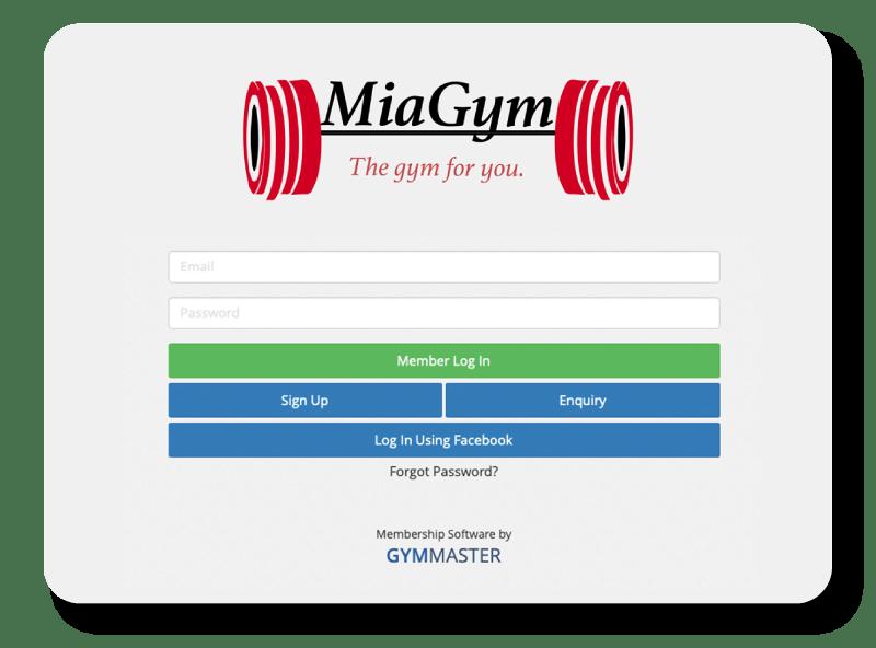 gym marketing branded member portal