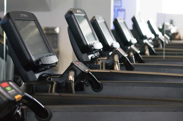 empty gym no one on treadmills