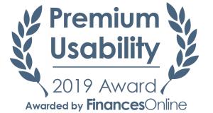 Finances Online Premium Usability Award