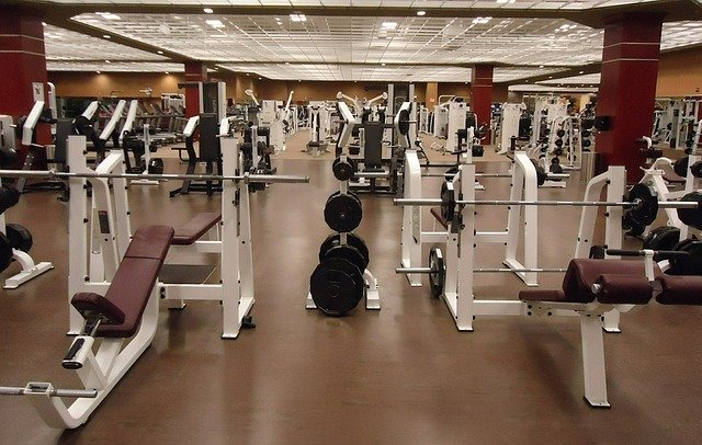 gym with no visitors covid-19