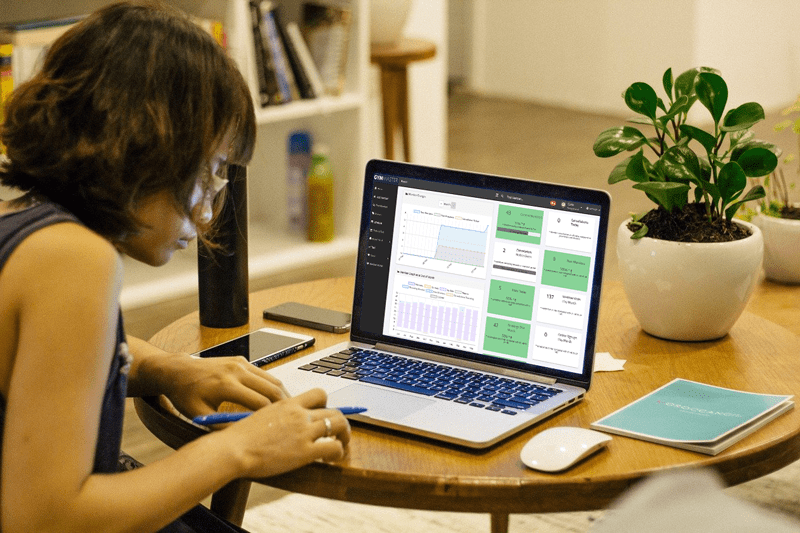 working from home with GymMaster